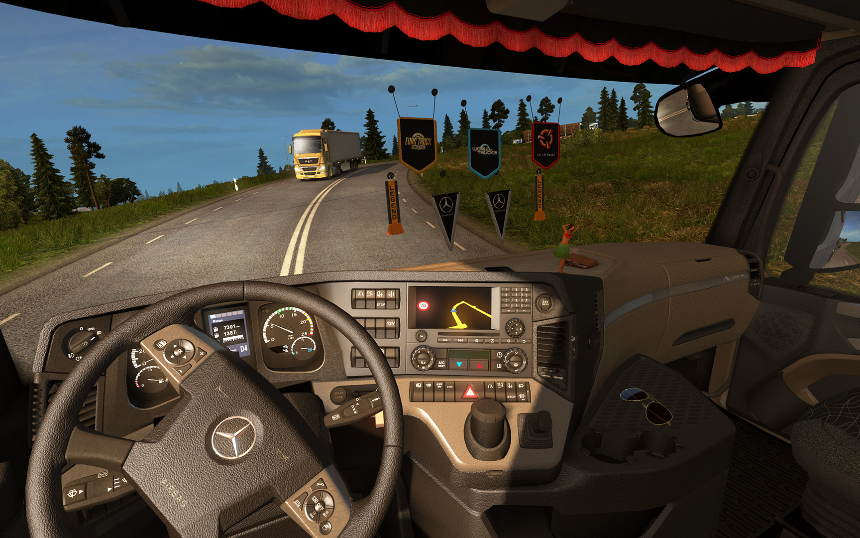 Save 70 On Euro Truck Simulator 2 Cabin Accessories On Steam