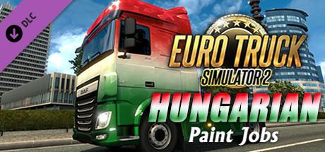 Euro Truck Simulator 2 - Hungarian Paint Jobs Pack
