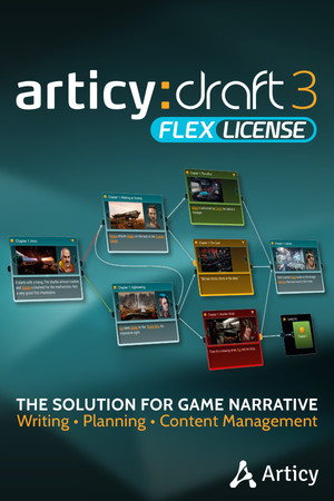articy:draft 3 - Flex License poster image on Steam Backlog