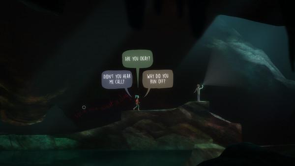 скриншот Oxenfree 1