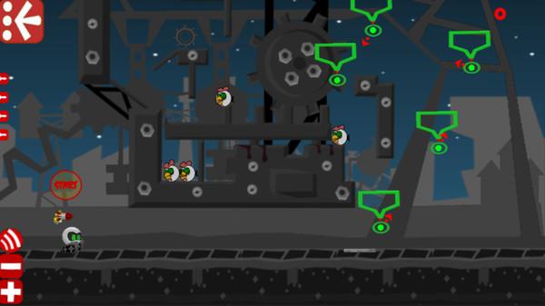 Robot vs Birds Zombies 0