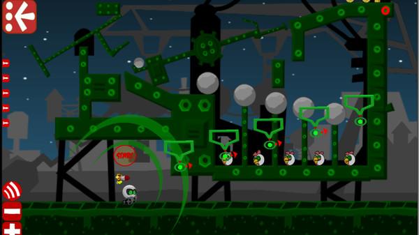 Robot vs Birds Zombies 2
