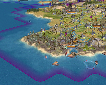 Screenshot of Sid Meier's Civilization IV