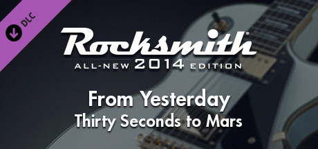 Rocksmith 2014 - Thirty Seconds to Mars - From Yesterday on Steam