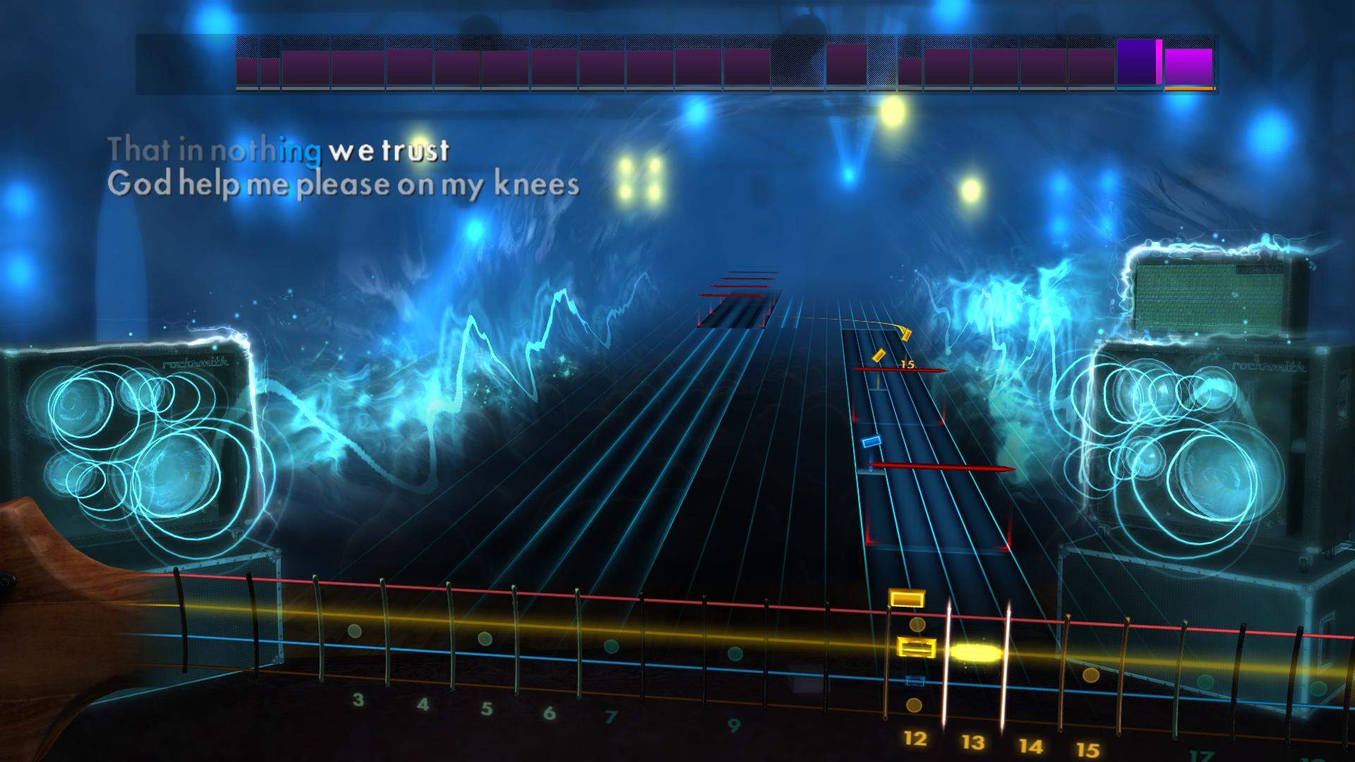 Rocksmith: All-new 2014 Edition - Megadeth: Trust 2016 pc game Img-4