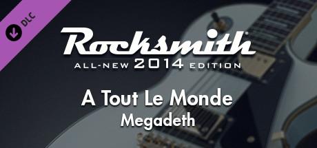 "Rocksmith® 2014 – Megadeth - ""A Tout Le Monde"""