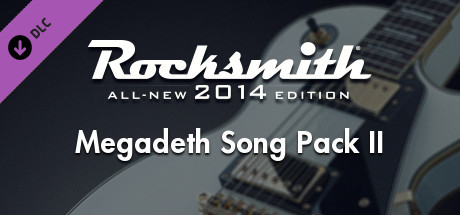 Rocksmith 2014 - Megadeth Song Pack II on Steam