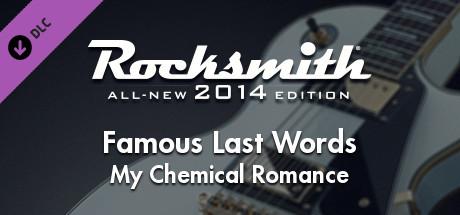 "Rocksmith® 2014 – My Chemical Romance – ""Famous Last Words"""