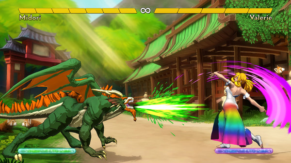 Screenshot of Fantasy Strike