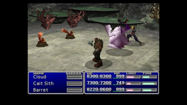 скриншот FINAL FANTASY VII 5