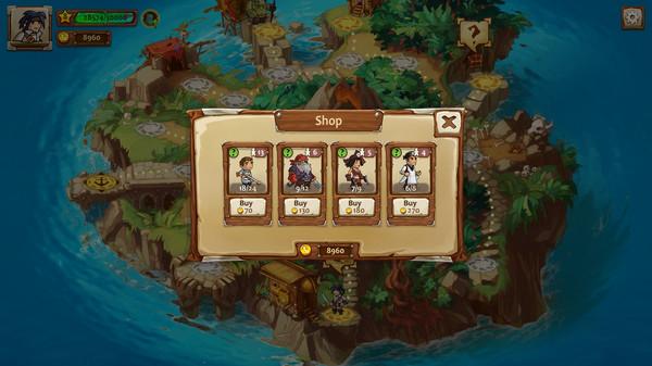 Screenshot of Braveland Pirate
