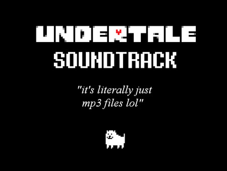 скриншот UNDERTALE Soundtrack 0