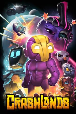 Crashlands poster image on Steam Backlog