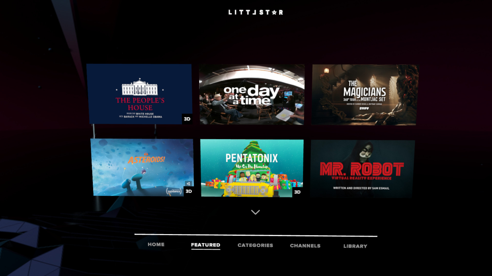 Littlstar VR Cinema on Steam
