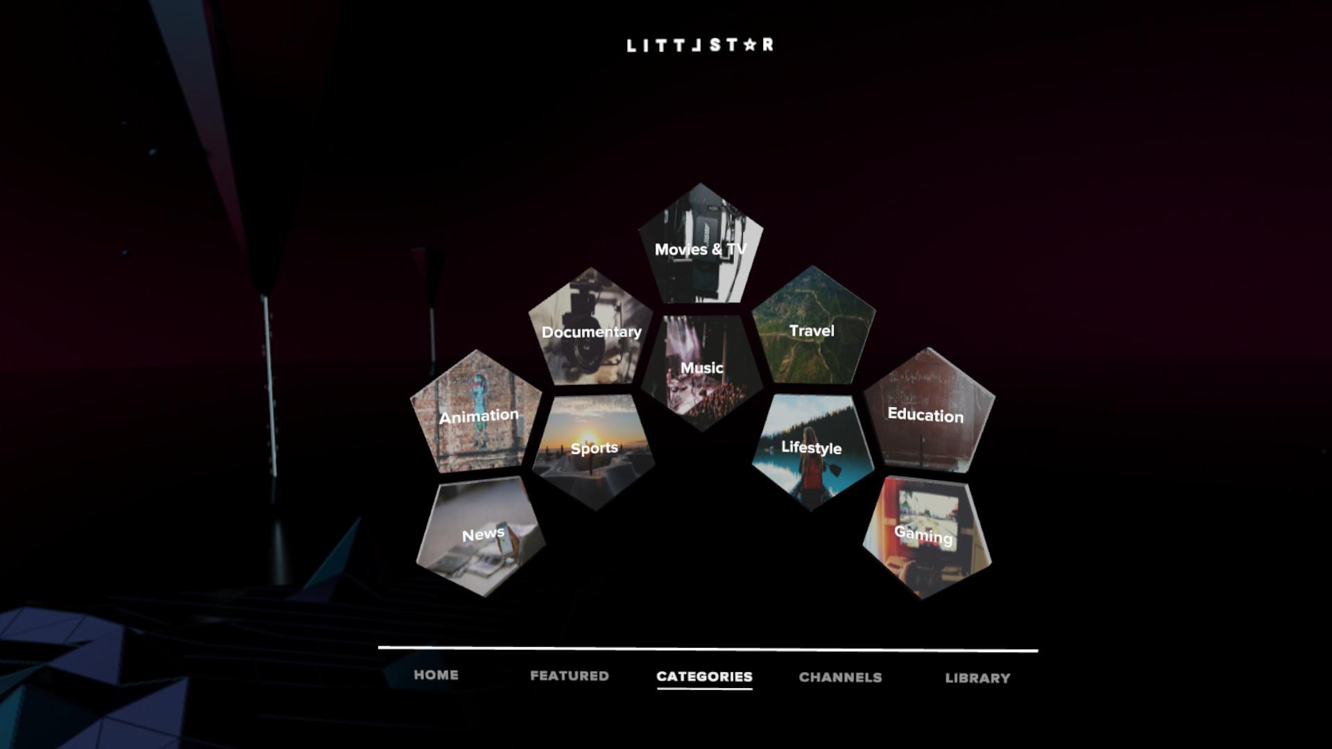 Littlstar VR Cinema on Steam