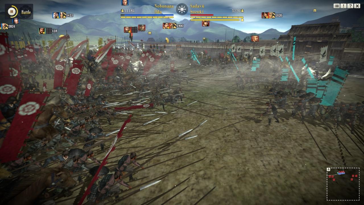 Nobunaga's Ambition czyli kolejna strategia i kawał dobrej gry dla zajawkowiczów