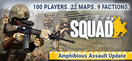 Squad poster image on Steam Backlog