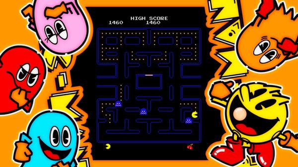 Screenshot of ARCADE GAME SERIES: PAC-MAN