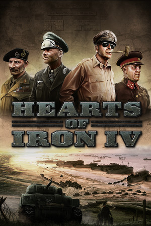 Hearts of Iron IV poster image on Steam Backlog