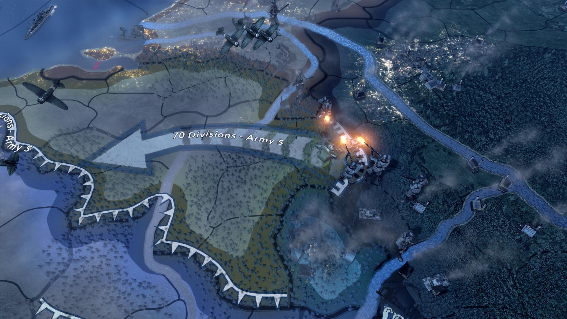 Скриншот игры Hearts of Iron 4 Field Marshal Edition v1.5.4
