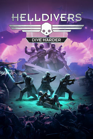 HELLDIVERS Dive Harder Edition poster image on Steam Backlog