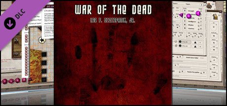 Fantasy Grounds - War of the Dead Chapter 1 for Savage Worlds