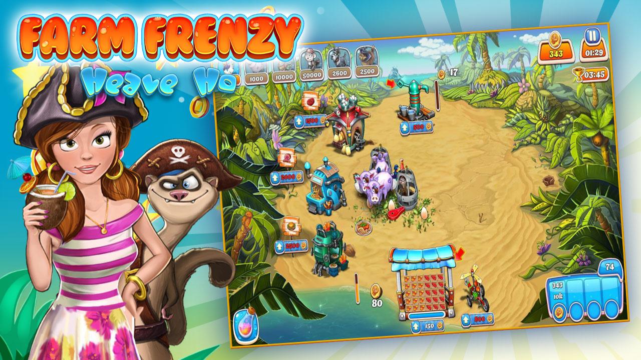 farm frenzy heave ho game nong trai offline thu vi