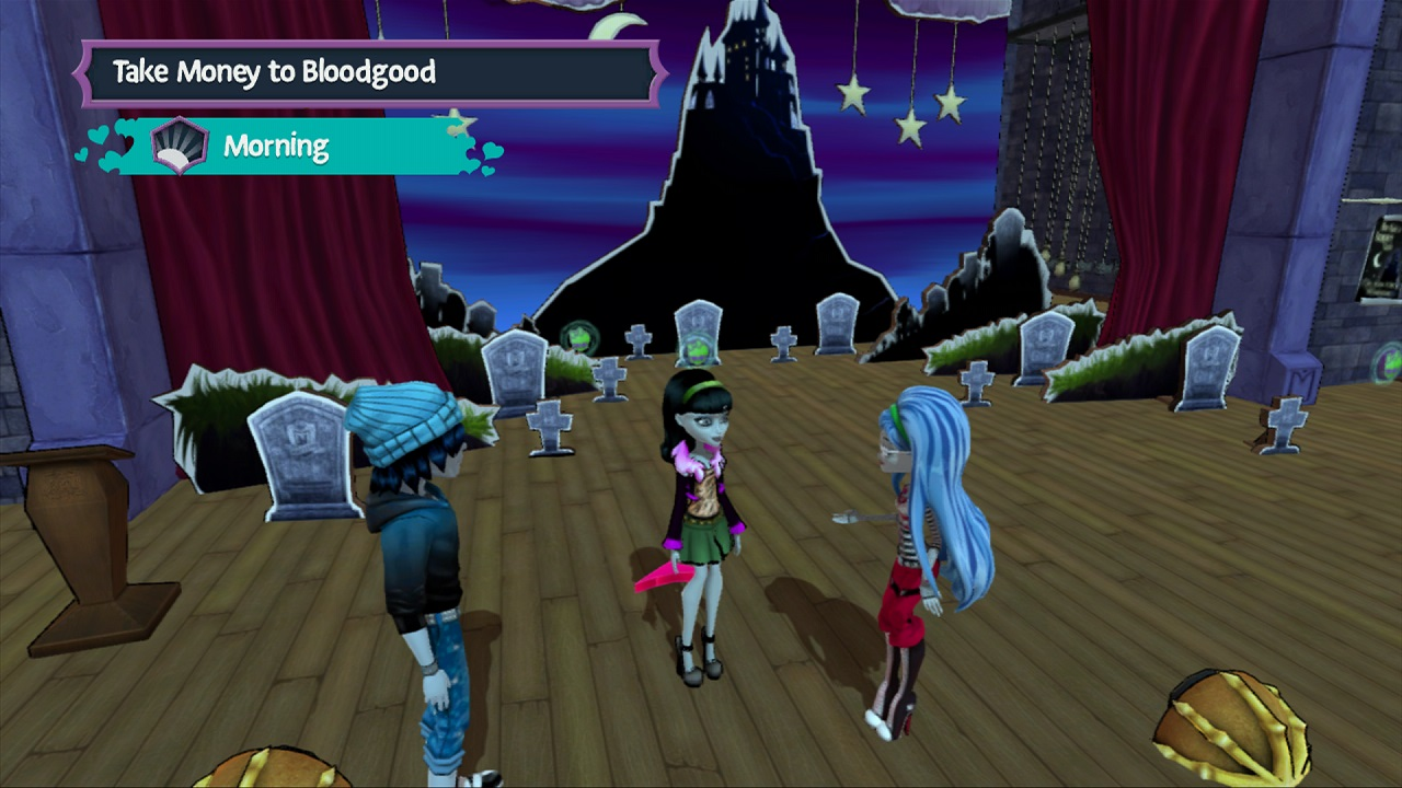 Monster High New Ghoul in School gameplay PC HD [1080p ...