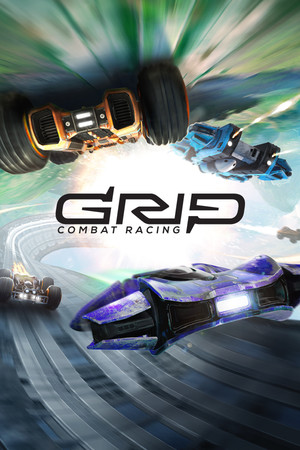 GRIP: Combat Racing poster image on Steam Backlog