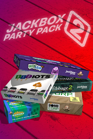 The Jackbox Party Pack 2 poster image on Steam Backlog