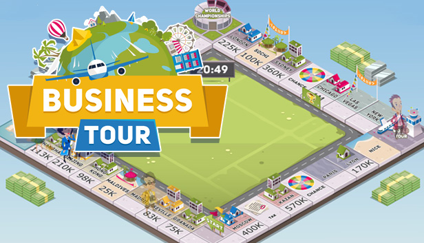 Business Tour - Board Game with Online Multiplayer