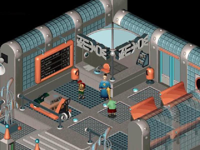 Little Big Adventure 2 screenshot 3