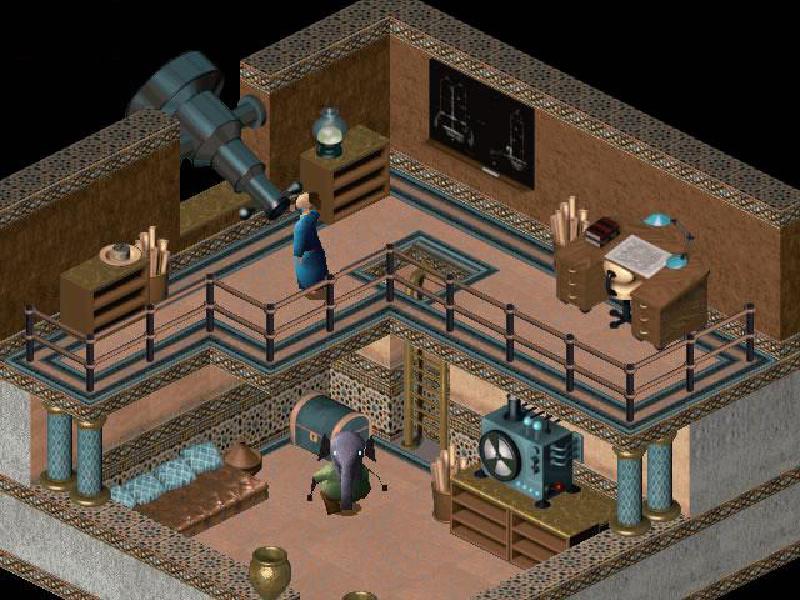 Little Big Adventure 2 screenshot 2