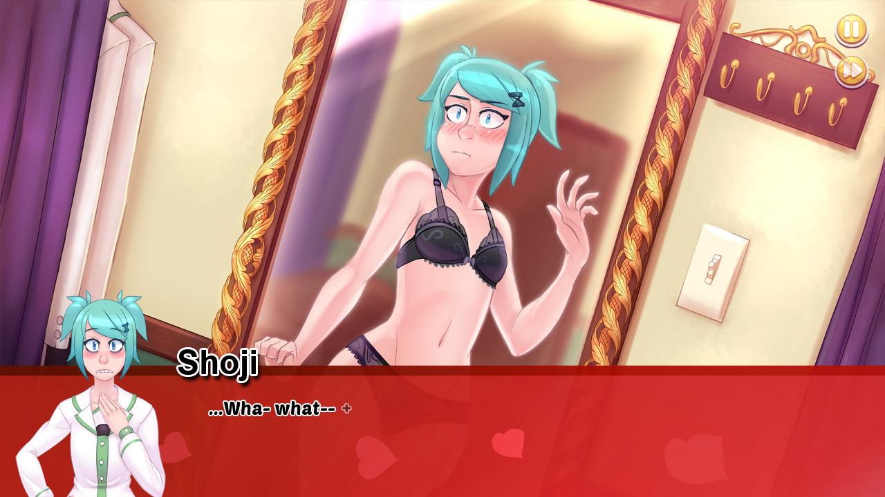 anime high school romance game
