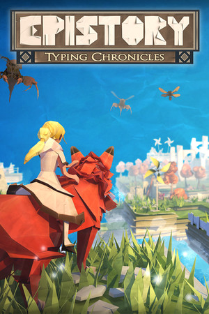 Epistory - Typing Chronicles poster image on Steam Backlog