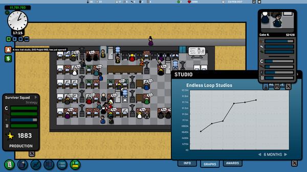 Screenshot of Game Corp DX