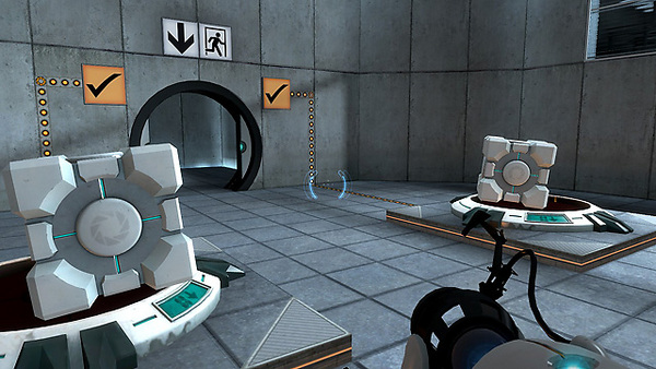 Screenshot of Portal