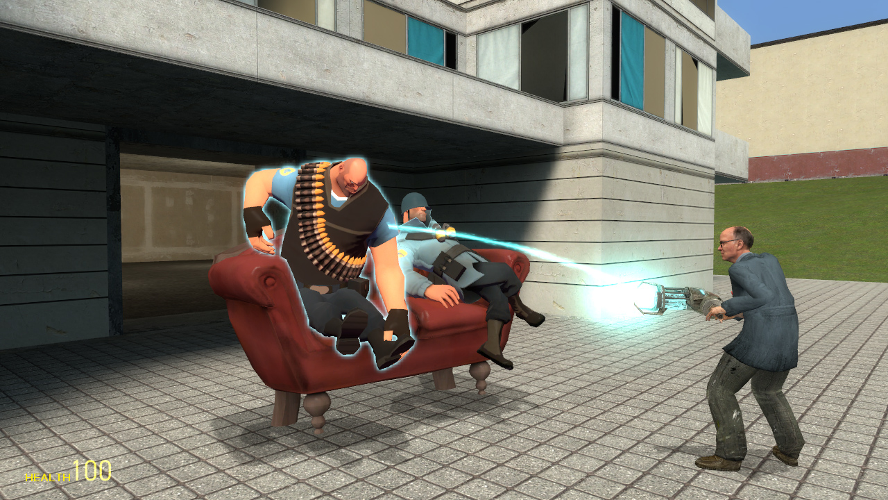 how to go in 3rd person on gmod