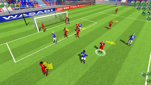Скриншот из Tactical Soccer The New Season