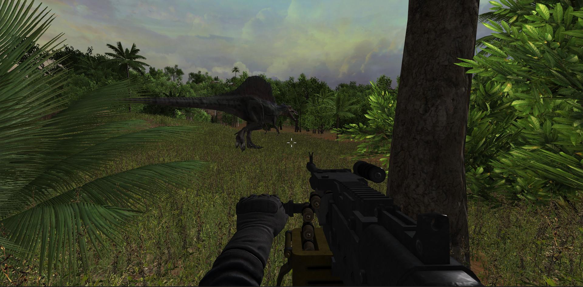 dinosaur shooting games download free