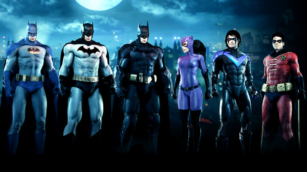 Скриншот №1 к Batman™: Arkham Knight - Bat-Family Skin Pack