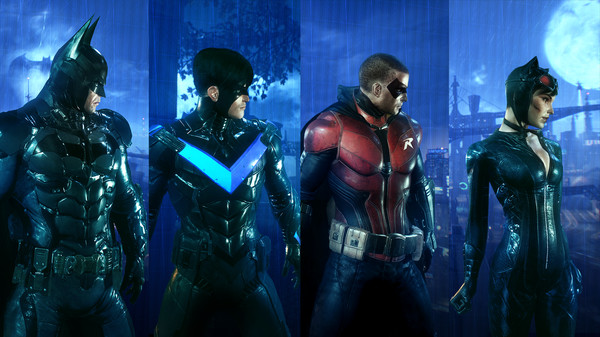 Скриншот №1 к Batman™ Arkham Knight - Crime Fighter Challenge Pack 1