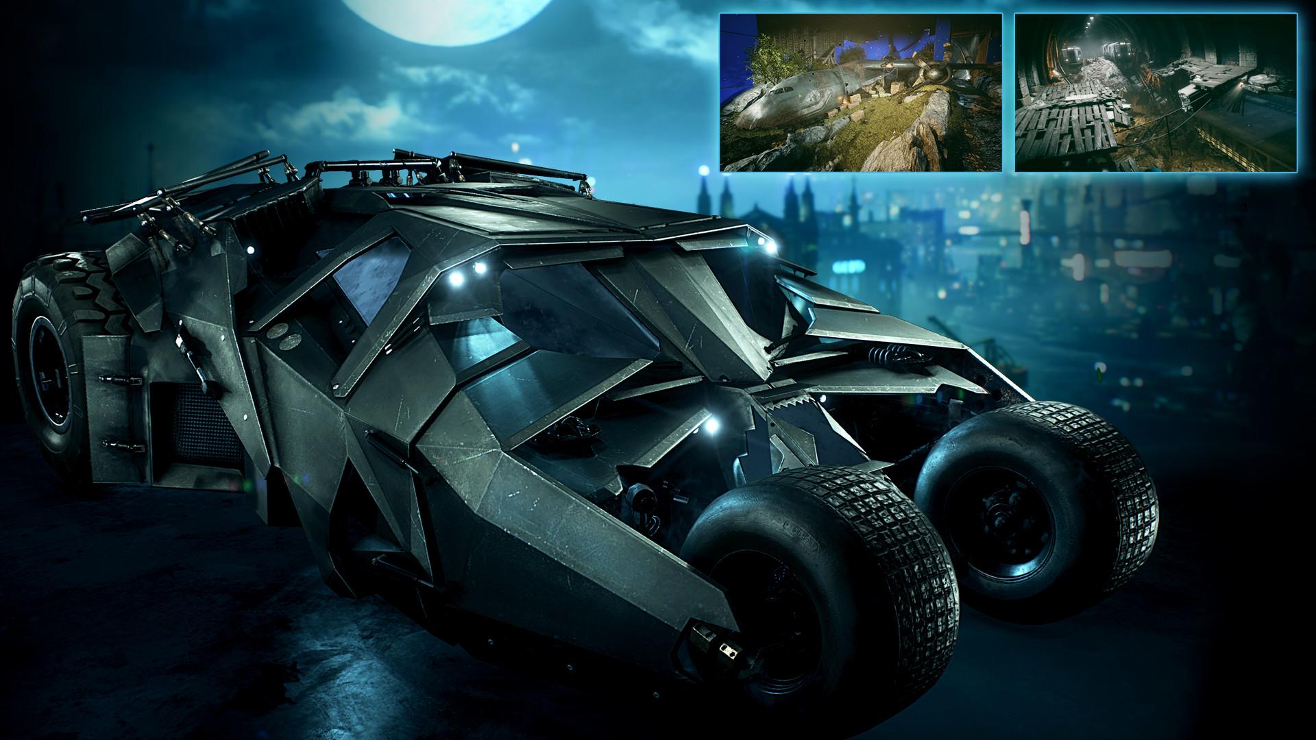 Batman Arkham Knight 2008 Tumbler Batmobile Pack On Steam