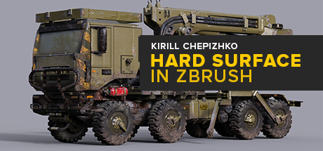 Hard Surface in Zbrush: Recovery Truck