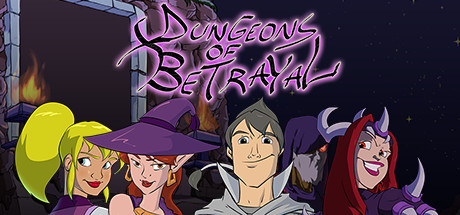 Dungeons of Betrayal cover art