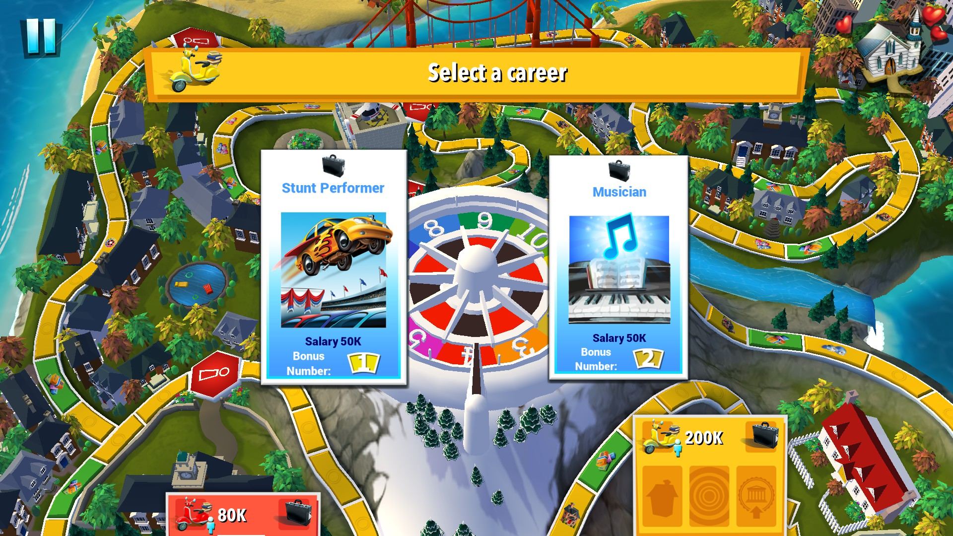 the life game online games