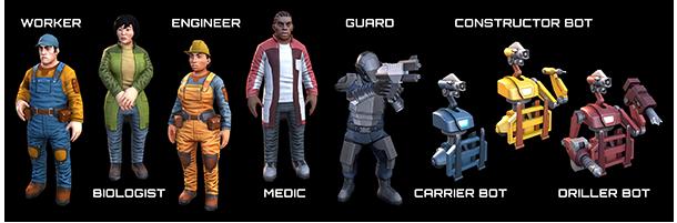 characters Planetbase V1.0.1
