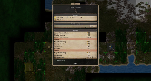 Screenshot of Conquest of Elysium 4