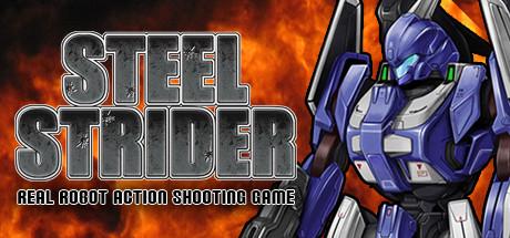 STEEL STRIDER cover art