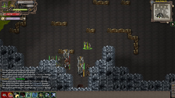 скриншот Tales of Maj'Eyal - Embers of Rage 5